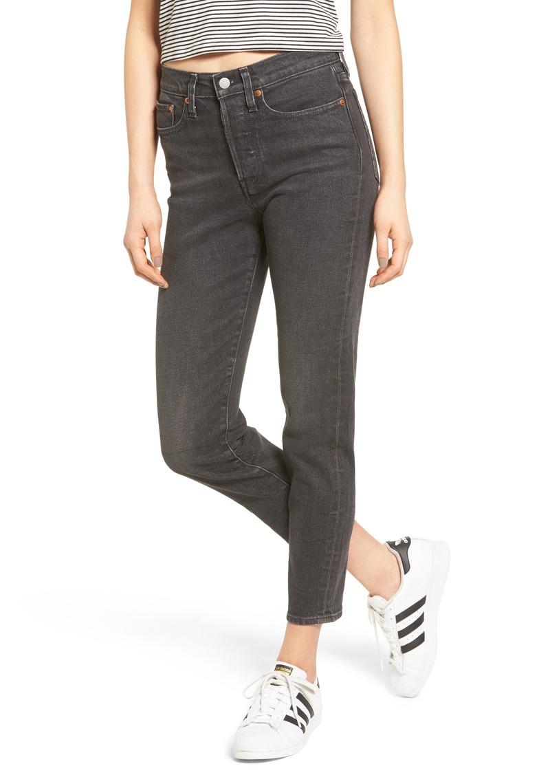 2d03daa220e Levi s Levi s® Wedgie Icon Fit High Waist Crop Jeans (Deedee)