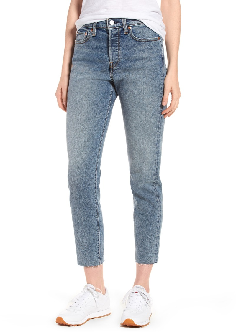 fc163433 Levi's Levi's® Wedgie Icon Fit High Waist Crop Jeans (Twisted Fate ...