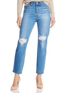 Levi's Wedgie Icon Straight Jeans in Charleston Breeze