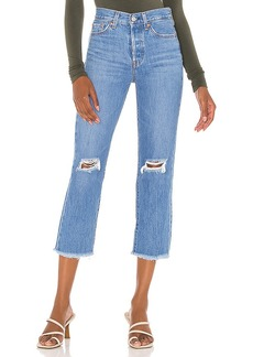 LEVI'S Wedgie Straight Crop