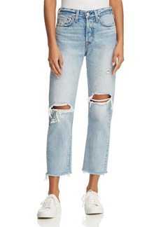 Levi's Wedgie Straight Jeans in Lost Inside