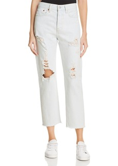 Levi's Wedgie Straight Jeans in Thin Ice - 100% Exclusive