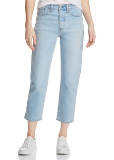Levi's Wedgie Straight-Leg Jeans in Dibs