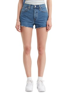 Levi's Women's 501 Cotton High-Rise Denim Shorts