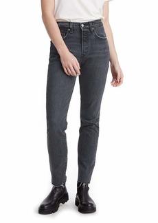 Levi's Women's 501 Skinny Jeans Cabo Tornado - Black  (US 14)