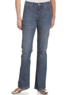 Levi's Women's 512 Straight Leg Jean Mountain Blue  Medium