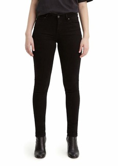 Levi's Women's 711 Skinny Jeans Soft Black 26 (US 2) L