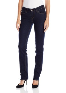 Levi's Women's 714 Straight Jeans  (73% Cotton 19% Polyester 7% Modal 1% Elastane) 25W X 32L