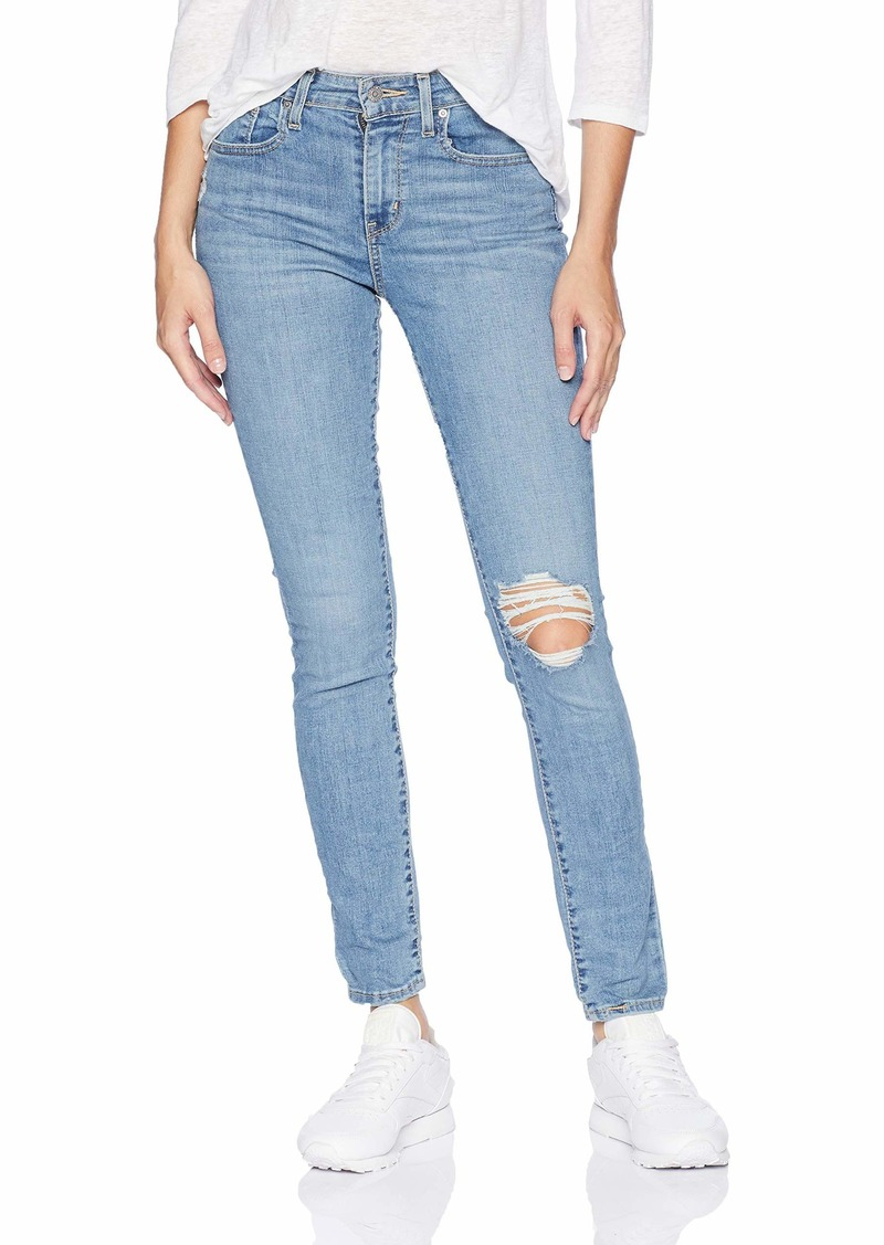 Levi's Women's 721 High Rise Skinny Jeans  Outta time - Ripped  29 (US 8) R