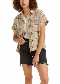 Levi's Women's Ariana Boxy Short-Sleeve Button Shirt