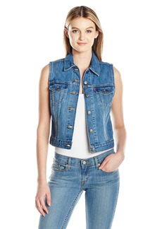 Levi's Women's Authentic Vest Camp-Out Blues