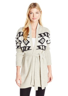 Levi's Women's Belted Cardigan Sweater