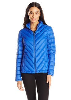 Levi's Women's Chevron Packable Down Travel Jacket
