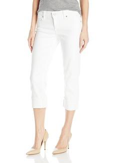 Levi's Women's Classic Capri Soft Clean White (Non-Denim)  (US 4)