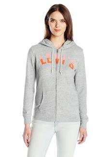 Levi's Women's Classic Zip Hoodie Sweatshirt Smokestack HTR