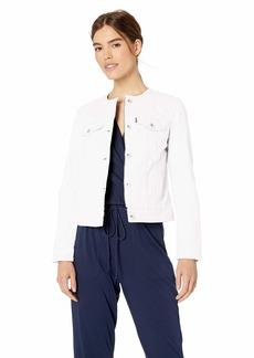Levi's Women's Collarless Cotton Trucker Jacket