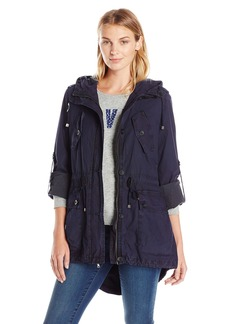 Levi's Women's Cotton Four Pocket Lightweight Full Length Fishtail Anorak