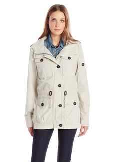 Levi's Women's Cotton Mid-Length Military Hooded Anorak