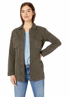 Levi's Women's Cotton Military Lightweight Parka Jacket