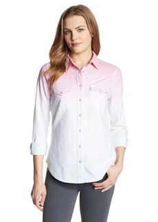 Levi's Women's Dip Dye Annie Denim Shirt