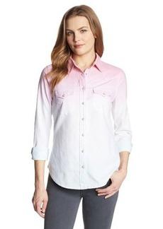 Levi's Women's Dip Dye Annie Denim Shirt