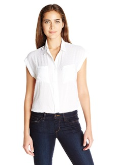 Levi's Women's Drop Shoulder Swiss Dot Muscle Shirt