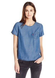 Levi's Women's Eva Top with Pocket