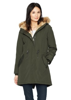 Levi's Women's Faux Fur Lined Hooded Parka Jacket  Extra Large