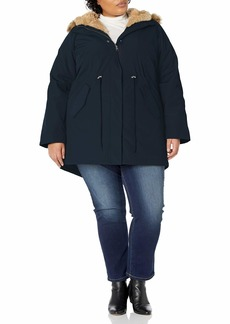Levi's Women's Faux Fur Lined Hooded Parka Jacket(Standard and Plus Size)