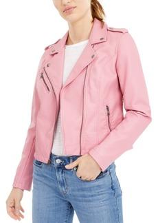 Levi's Women's Faux-Leather Moto Jacket