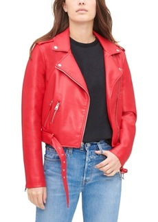 Levi's Women's Faux-Leather Moto Jacket
