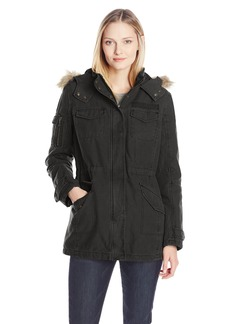 Levi's Women's Four Pocket Hooded Parka