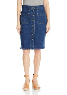 Levi's Women's Front Detailed Skirts   (US 4)