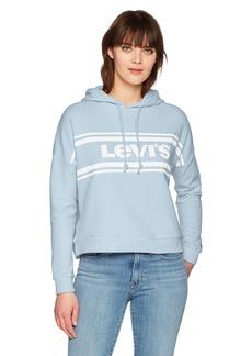 Levi's Women's Graphic Track Hoodie Sweatshirt