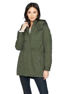 Levi's Women's Hooded Cotton Fishtail Anorak Jacket
