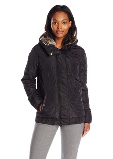 Levi's Women's Hooded Onion Quilted Bomber Jacket