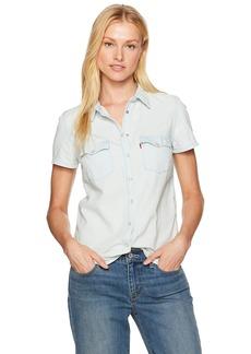 Levi's Women's Larissa Short Sleeve Western Shirt