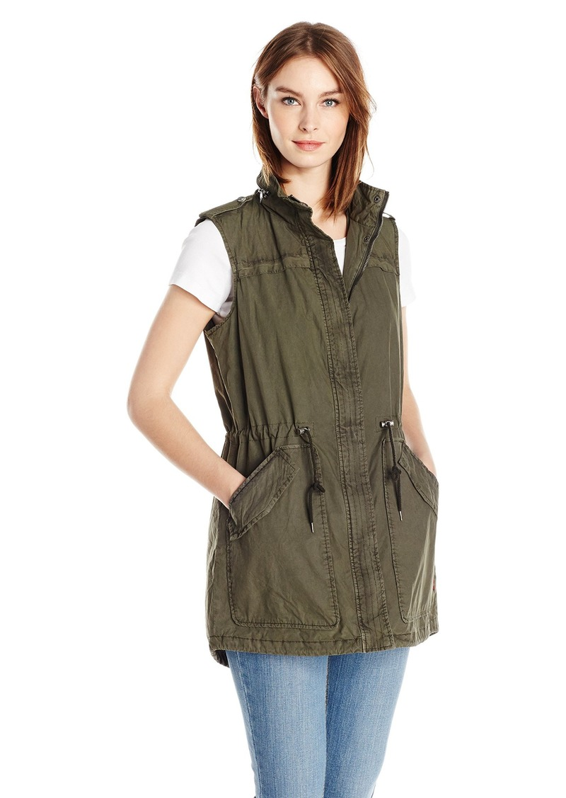 Levi's Women's Light Weight Cotton Fishtail Vest  M