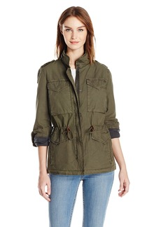 Levi's Women's Parachute Cotton Military Jacket  L