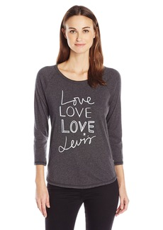 Levi's Women's Long Sleeve Raglan Shirt