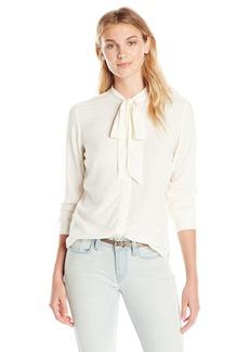Levi's Women's Modern Bow Tie Shirt