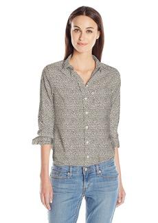 Levi's Women's Modern One Pocket Shirt thimbleberry Oatmeal