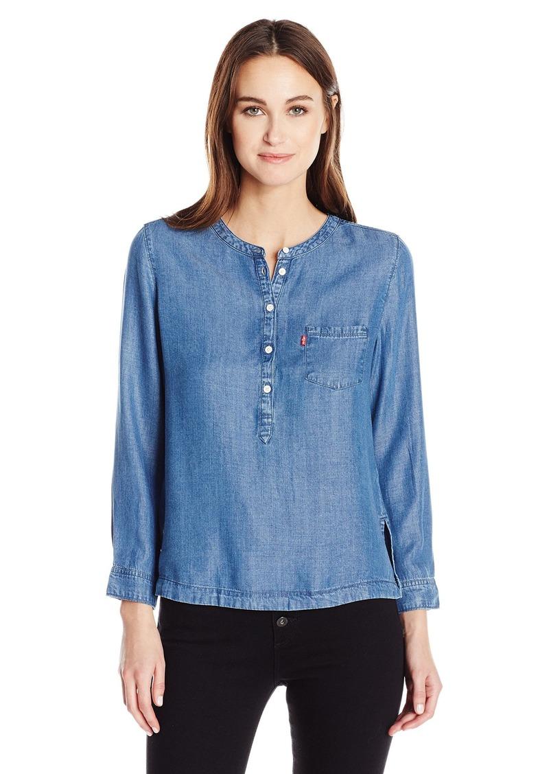 735ae01e06c On Sale today! Levi s Levi s Women s Modern Popover Shirt