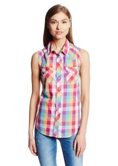 Levi's Women's Plaid Muscle Shirt