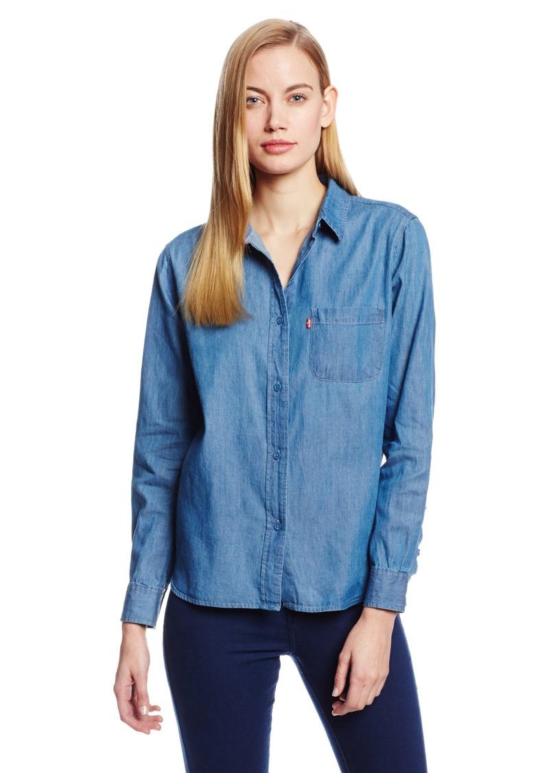 Levi's Women's One Pocket Boyfriend Lyocell Shirt