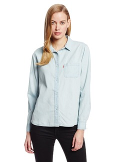 Levi's Women's One Pocket Boyfriend Lyocell Shirt