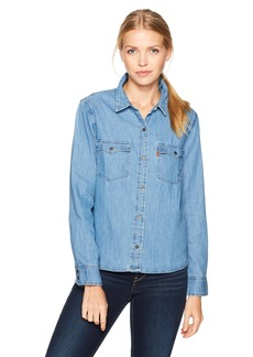 Levi's Women's Orange Tab Western Shirt