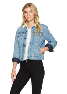 Levi's Women's Original Sherpa Trucker Jackets