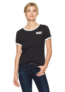 Levi's Women's Perfect Ringer Tee Shirt