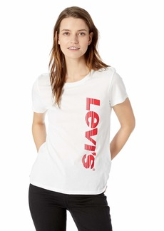 Levi's Women's Perfect Tee-Shirt neon Sign Sachet Pink